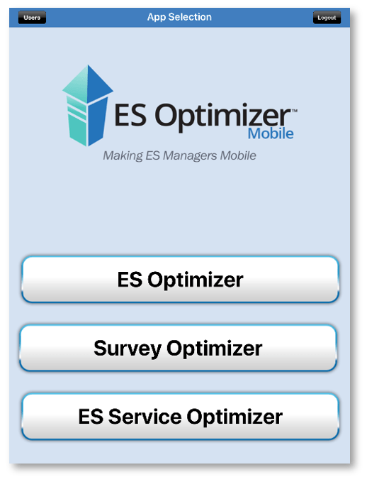 ES Optimizer Mobile Menu